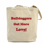 Bulldoggers Get More Love Logo
