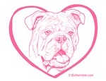 Bully Heart Pink
