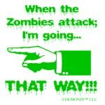 I'm going left...