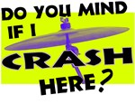 Crash Here Drummer Cymbal T-shirts & Gifts