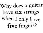 Why do Guitars have Six strings T-shirts & Gifts