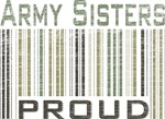 Military Army Sisters Proud T-shirts & Gifts