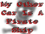 Other Car Pirate Ship Caribbean T-shirts & Gifts