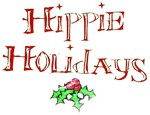 Hippie Holidays Christmas T-shirts & Gifts