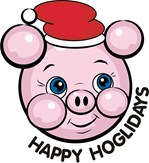 Happy Hoglidays Christmas Pig T-shirts & Gifts