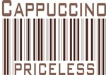 Cappuccino Priceless Barcode T-shirts & Gifts