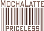 Mocha Latte Priceless Barcode T-shirts & Gifts