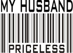 My Husband Priceless Barcode