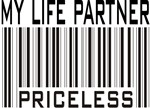 My Life Partner - Priceless Barcode