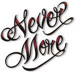 Never More Anti Love Tattoo T-shirts & Gifts