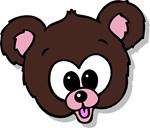 Cute Brown Bear Wild Animal T-shirts & Gifts