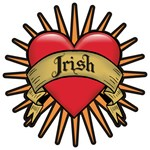 Irish Tattoo Heart