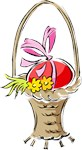 Easter Basket with Egg T-shirts & Gifts