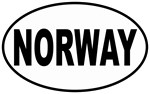 European Oval Norway T-shirts & Gifts