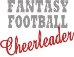 Fantasy Football Cheerleader t-shirts gifts