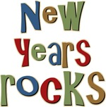 New Years Rocks Party Celebration T-shirts Gifts