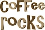 Coffee Rocks Caffeine Lover T-shirts Gifts
