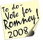Vote Mitt Romney Reminder T-shirts Gifts