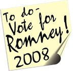 Vote Mitt Romney Reminder T-shirts Gifts