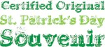 Official St Patrick's Day Souvenir T-shirts Gifts