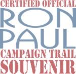 Official Ron Paul Campaign Souvenir T-shirts Gifts