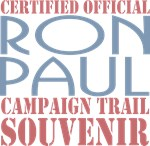 Official Ron Paul Campaign Souvenir T-shirts Gifts
