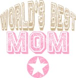 World's Best Mom Star T-shirts Gifts