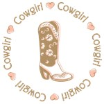 Sweet Cowgirl Pink Boot T-shirts Gifts