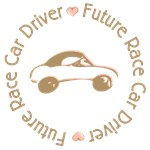 Future Race Car Driver Cartoon Girl T-shirts Gifts