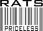 Rats Priceless Bar Code T-shirts Gifts