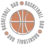 Basketball Dad T-shirts Gifts