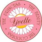 Yvette Princess Beauty Goddess T-shirt Gifts