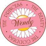 Wendy Princess Beauty Goddess T-shirts Gifts