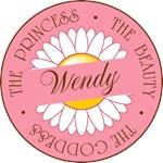 Wendy Princess Beauty Goddess T-shirts Gifts