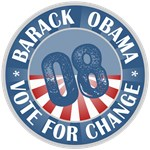 Barack Obama Vote For Change T-shirts Gifts