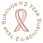 2 Year Breast Cancer Survivor T-shirts Gifts