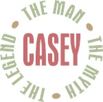 Casey the Man the Myth the Legend T-shirts Gifts