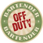 Off Duty Bartender T-shirts Gifts