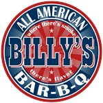 Billy's All American Bar-b-q T-shirts Gifts
