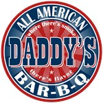 Daddy's All American Bar-b-q T-shirts Gifts