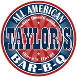 Taylor's All American Bar-b-q T-shirts Gifts