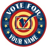 Vote for Your Name Personalized T-shirts Gifts