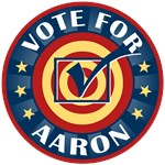 Vote For Aaron Personalized T-shirts Gifts