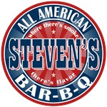 Steven's All American Bar-b-q T-shirts Gifts