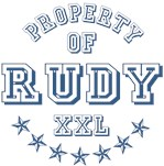 Property of Rudy Personalized T-shirts Gifts
