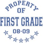 Property of First Grade 2008-2009 T-shirts Gifts