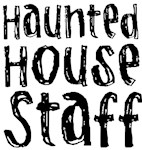 Haunted House Staff T-shirts Gifts