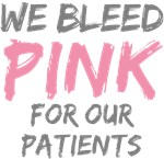 Bleed Pink Patients Breast Cancer T-shirts Gifts