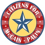 Citizens for McCain Palin T-shirts Gifts