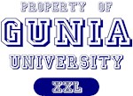 Property of Gunia Name University Tees Gifts